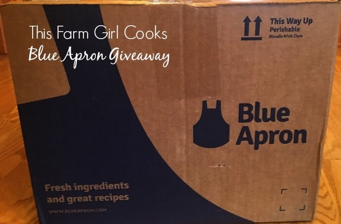 Blue Apron Giveaway - Free Meals!