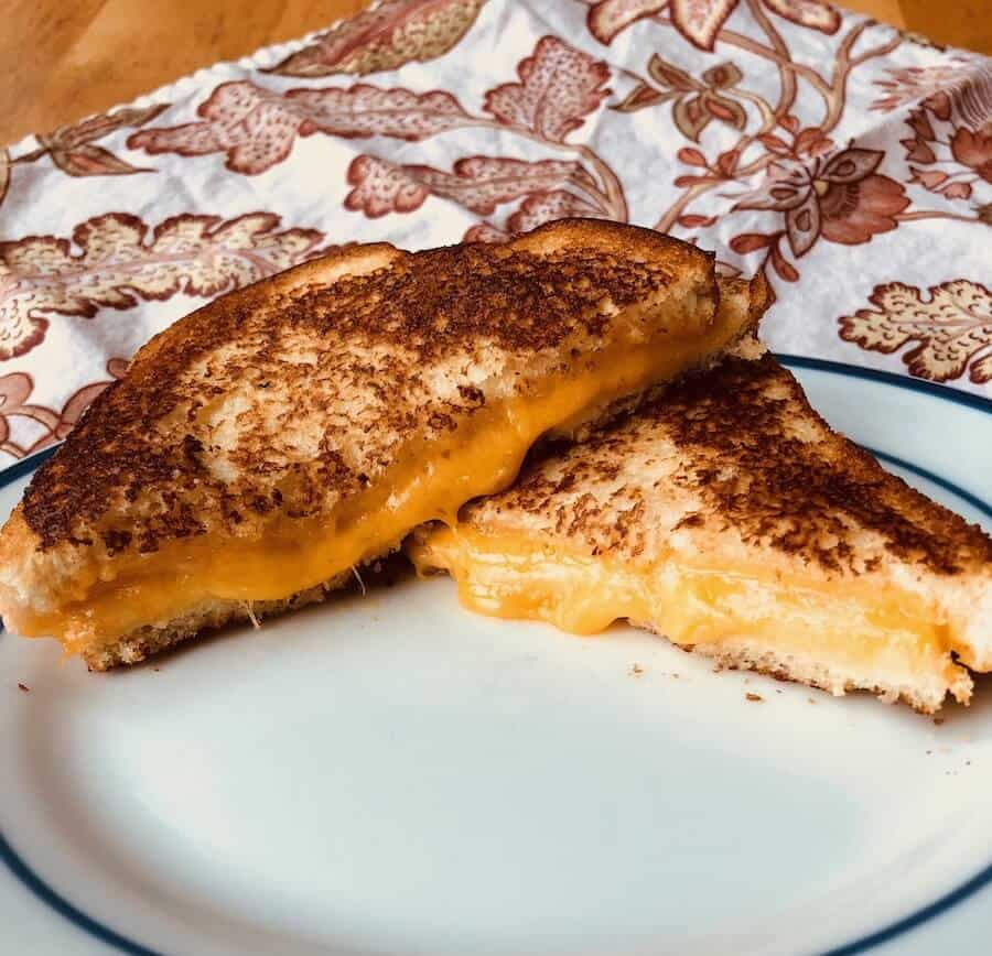 Who doesn't LOVE a classic grilled cheese???